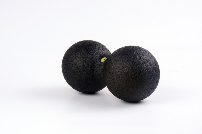 BLACKROLL Duo-Ball Gr:12cm schwarz